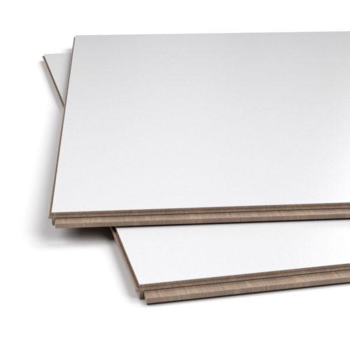 Białe panele –matt